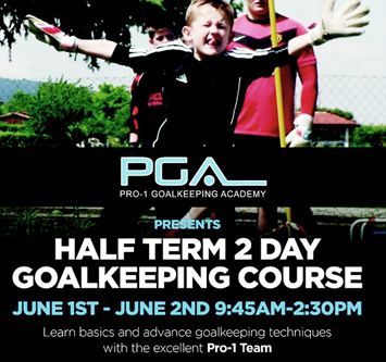 Pro1 Goalkeeping Academy - Half Term Course 2016