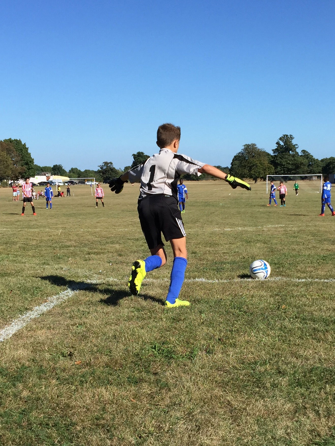 Does your child choose to take their own goal kicks?