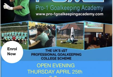 Goalkeeping College Open Evening
