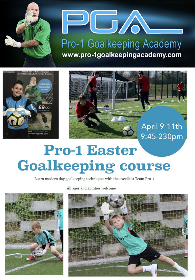 Pro-1 Easter goalkeeping course