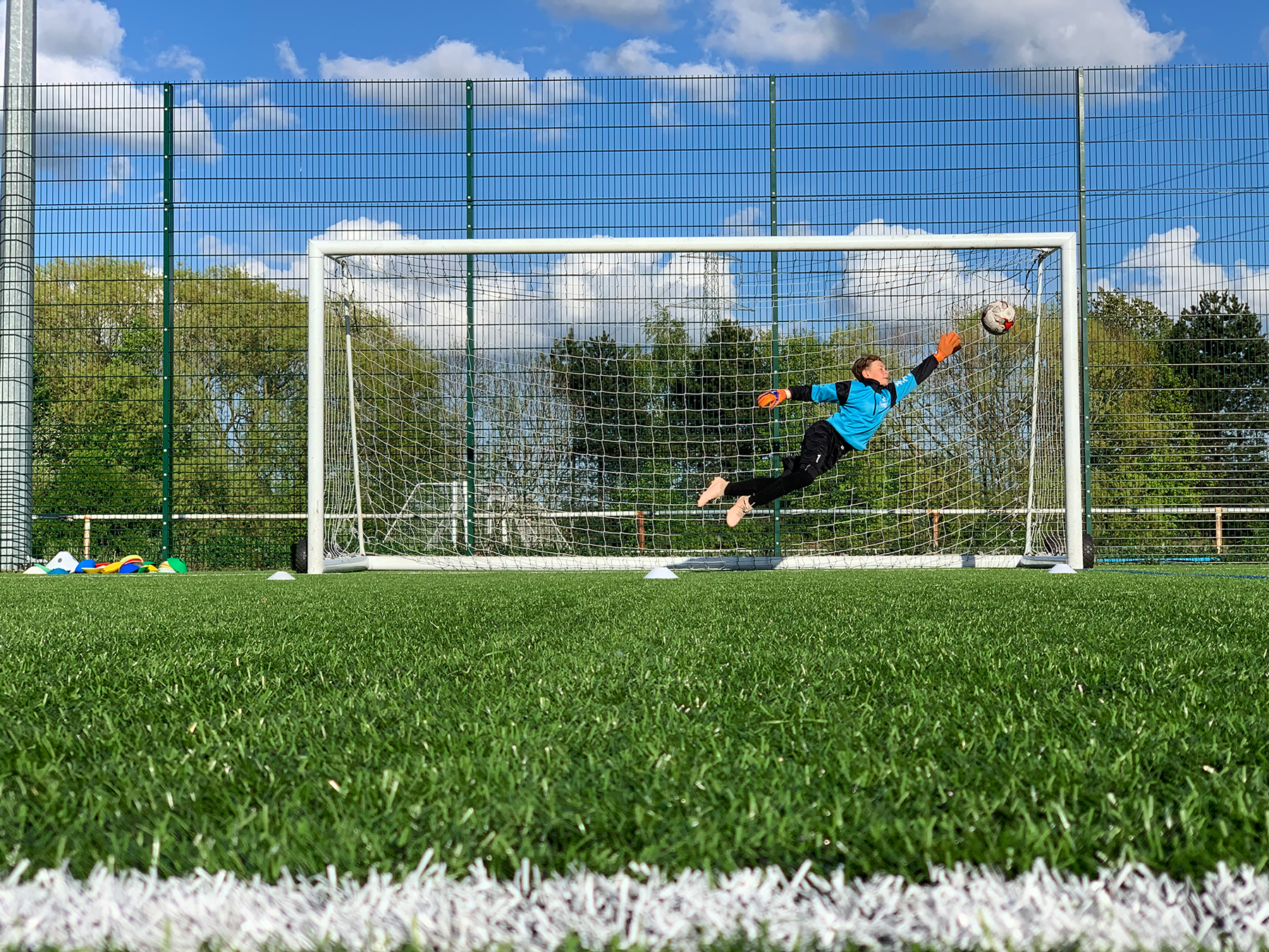 Pro-1 presents the May half term goalkeeping course
