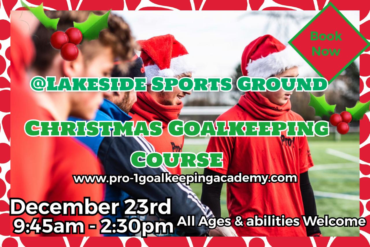 🎄Christmas goalkeeping course 🎄