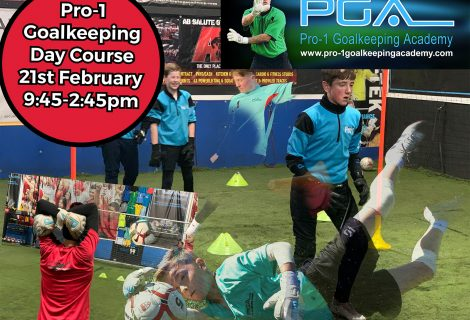 ❤️❤️Pro-1 Half Term Goalkeeping Course ❤️❤️
