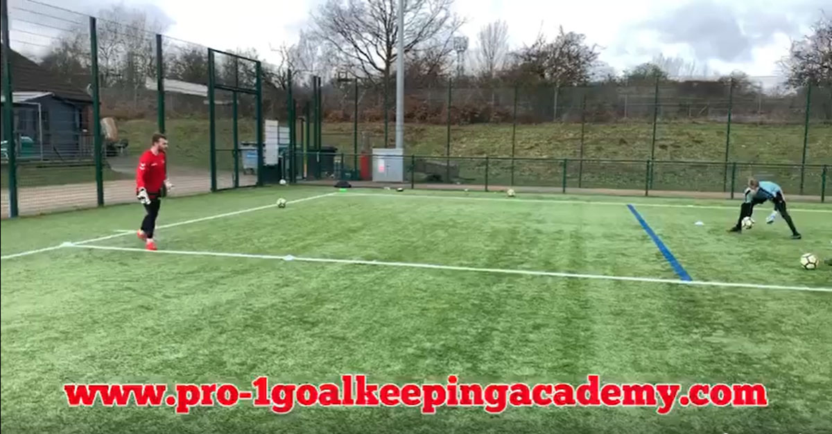 Precision and movement Goalkeeping Art