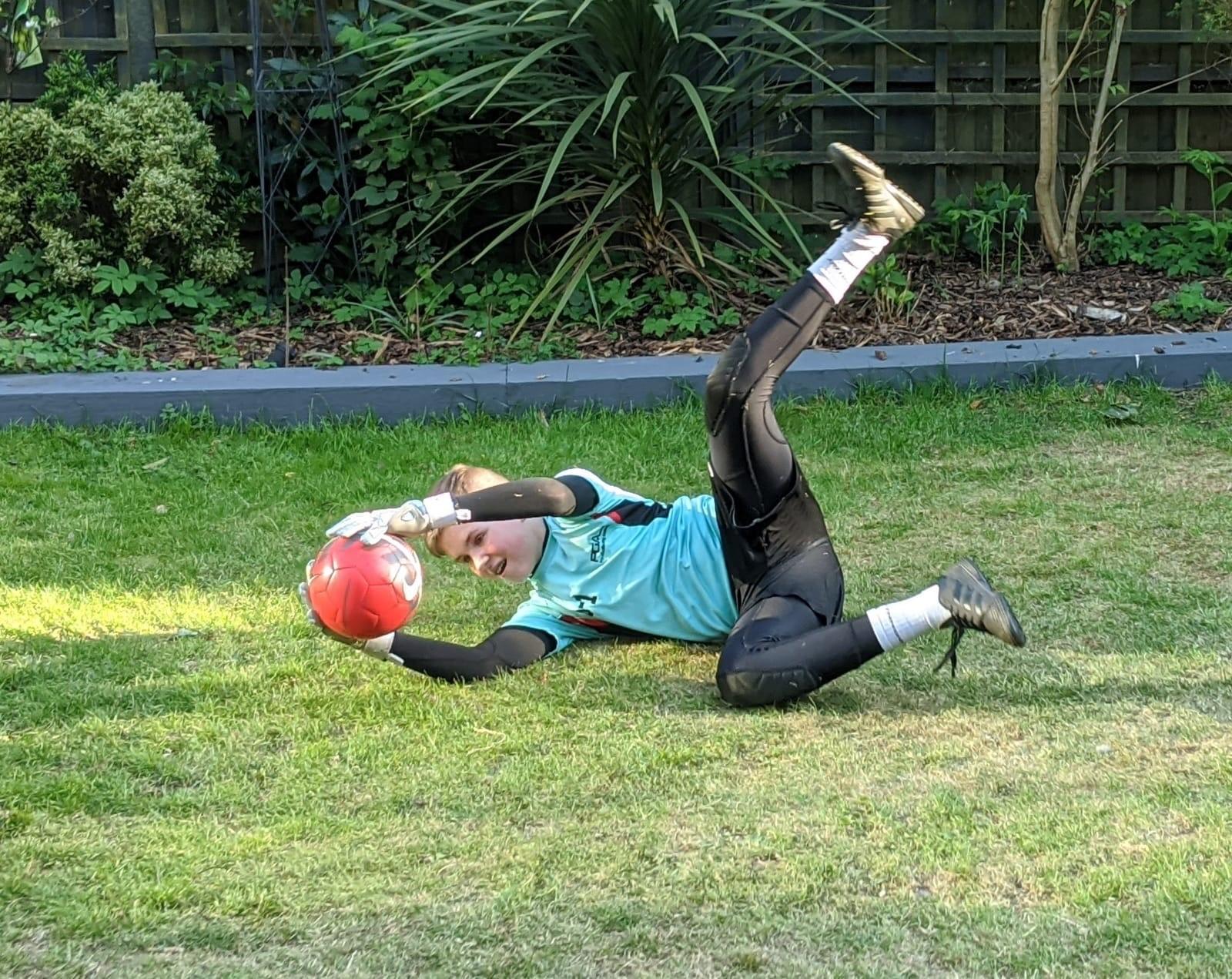 Online Goalkeeper coaching course