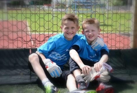 Check out these u10 goalkeepers
