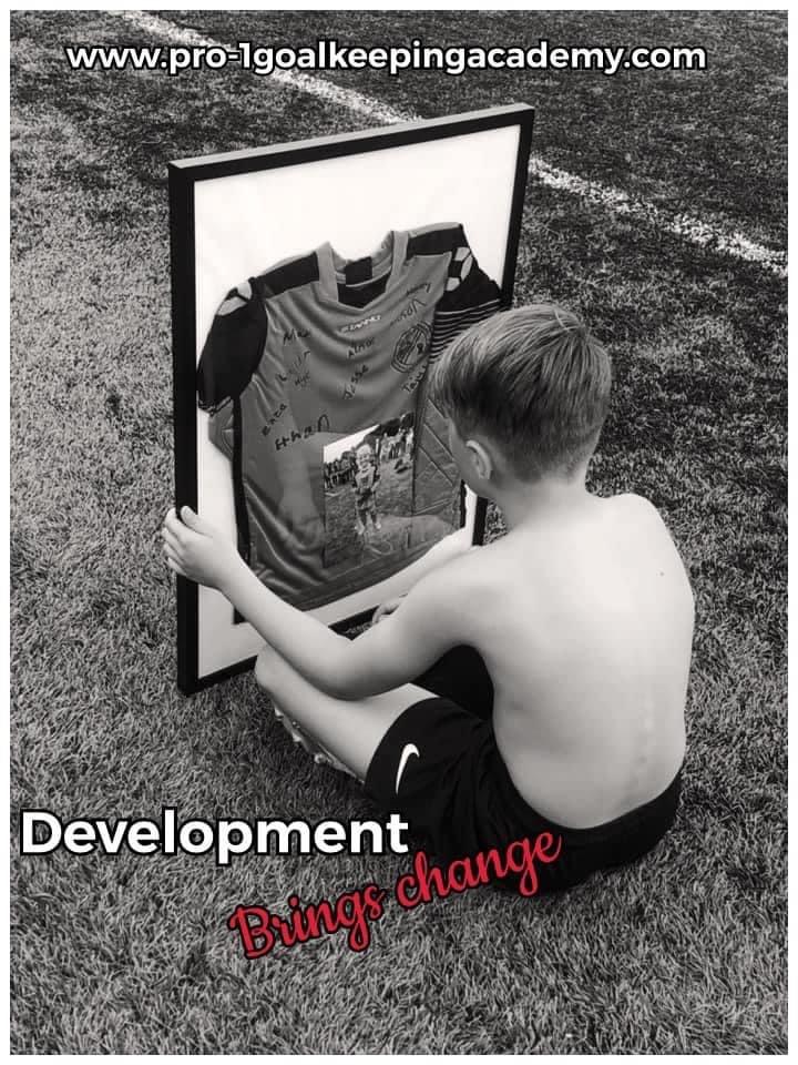 Development means change ⚽️🧤