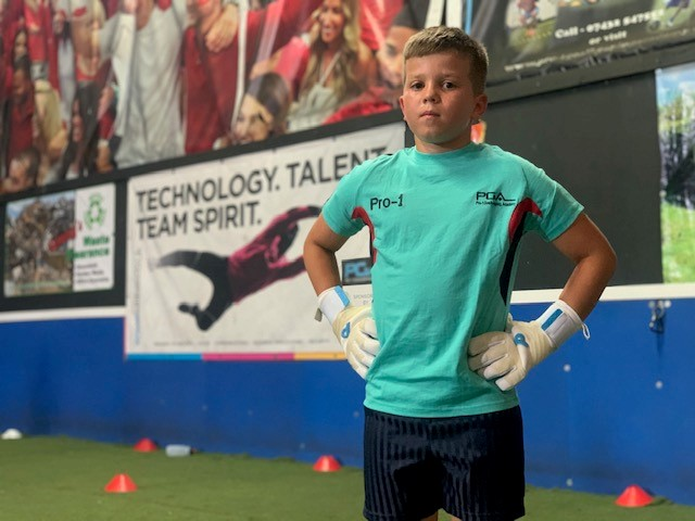 Dressed for success ⚽️🧤